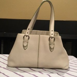 Cole Haan leather purse off white